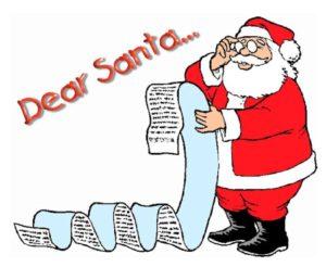 Christmas-list-shopping