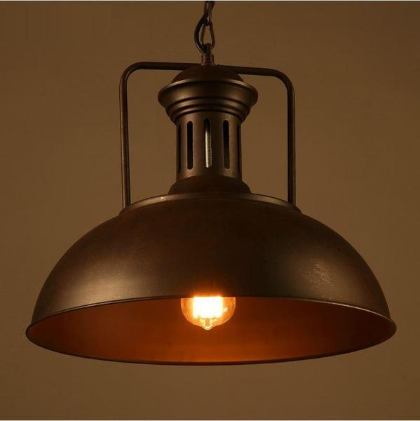 American-vintage-retro-industrial-art-iron-lampshade